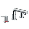 hansgrohe Talis S 3-hole Deck Mounted Bath Mixer - 72415000 profile small image view 1