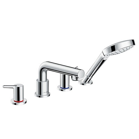 hansgrohe Talis S 4-hole Deck Mounted Bath Mixer - 72418000