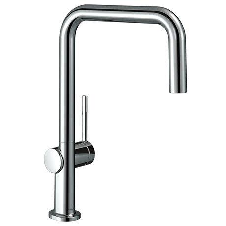 hansgrohe Talis M54 220 U-Spout Single Lever Kitchen Mixer - Chrome - 72806000
