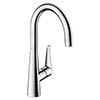 Hansgrohe Talis S 260 Single Lever Kitchen Mixer - 72810000 profile small image view 1
