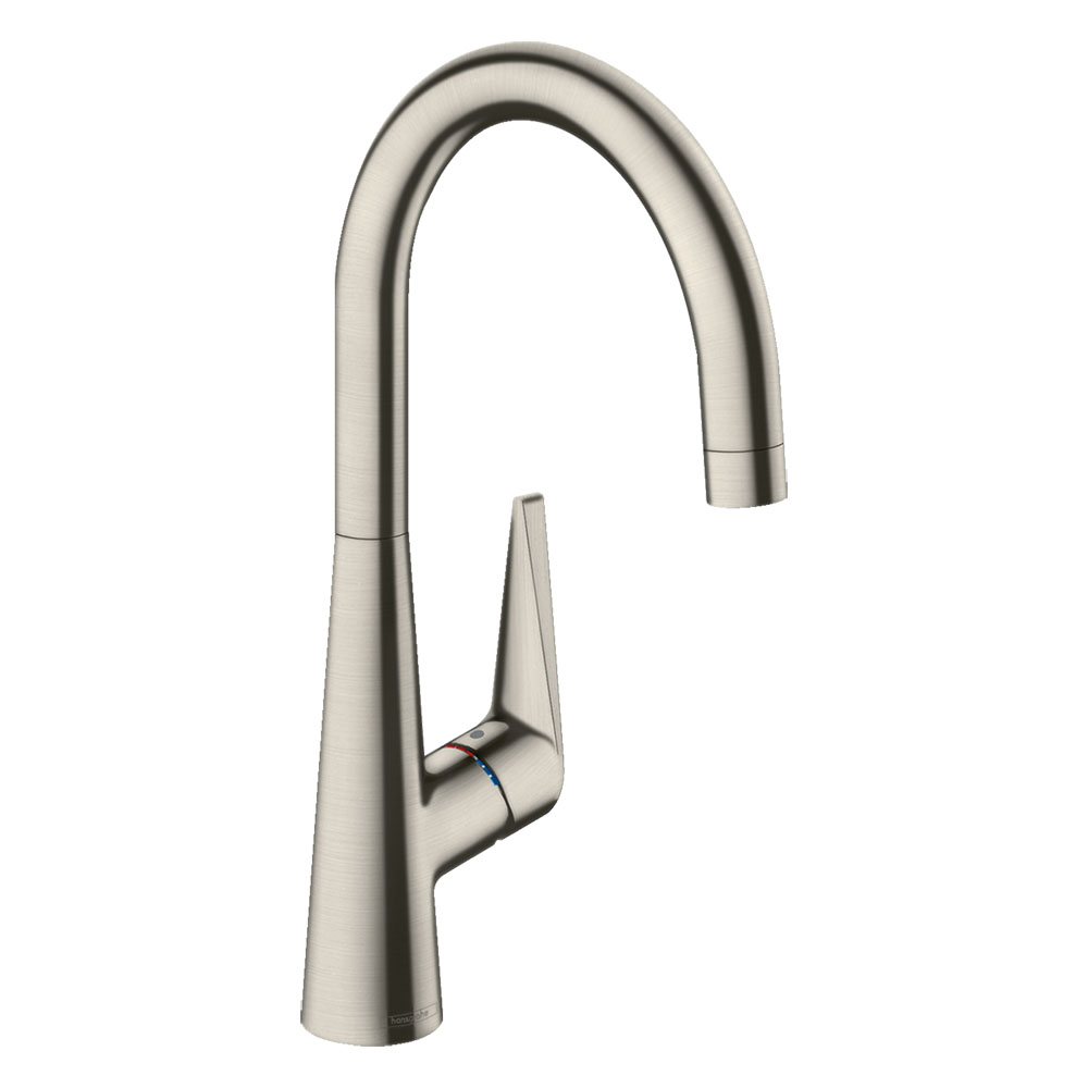 hansgrohe Talis M51 Single Lever Kitchen Mixer 260 - Stainless Steel - 72810800