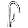 hansgrohe Talis S 220 Single Lever Kitchen Mixer - 72814000 profile small image view 1