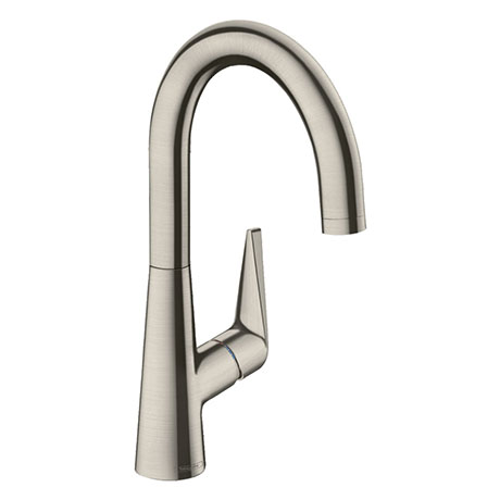 hansgrohe Talis M51 Single Lever Kitchen Mixer 220 - Stainless Steel - 72814800