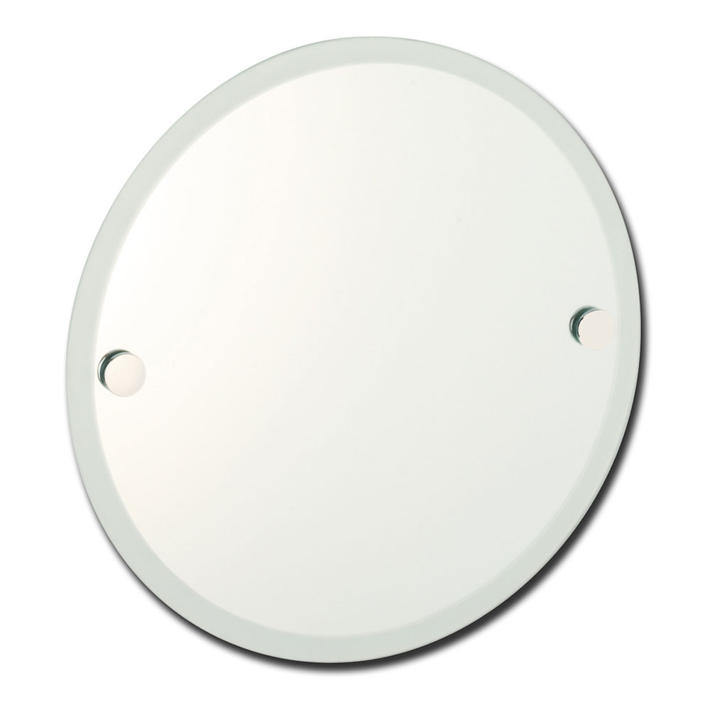 Roper Rhodes Lincoln Round Mirror with Frosted Edge - 73004.02 Large Image