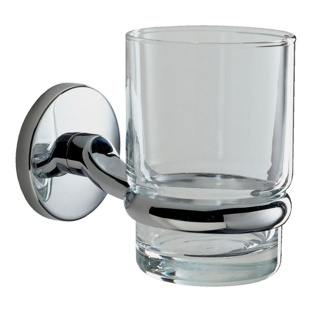 Roper Rhodes Lincoln Glass Toothbrush Holder - 73016 Large Image