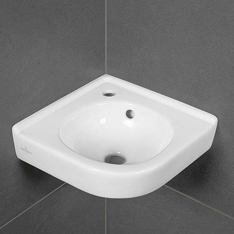 Villeroy and Boch O.novo 400 x 320mm 1TH Corner Handwash Basin - 73103201