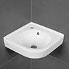 Villeroy and Boch O.novo 400 x 320mm 1TH Corner Handwash Basin - 73103201 profile small image view 1