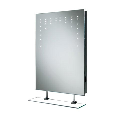 HIB Rain LED Mirror with Charging Socket - 73105200 profile large image view 2