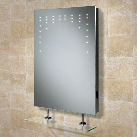 HIB Rain LED Mirror with Charging Socket - 73105200 profile large image view 1