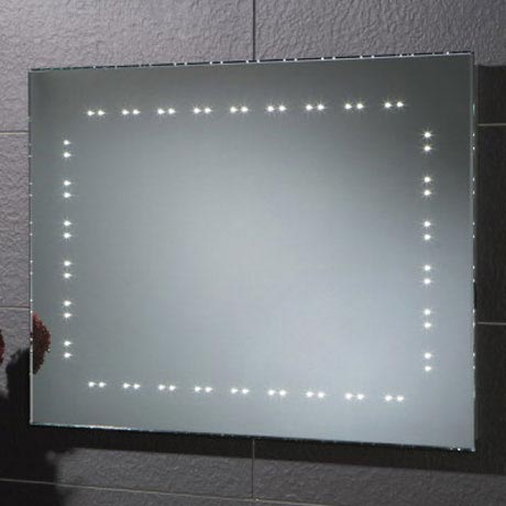 HIB Hannah LED Mirror - 73106200 Large Image