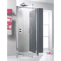 Simpsons - Supreme Luxury Pivot Shower Door - 900mm - 7312 Medium Image