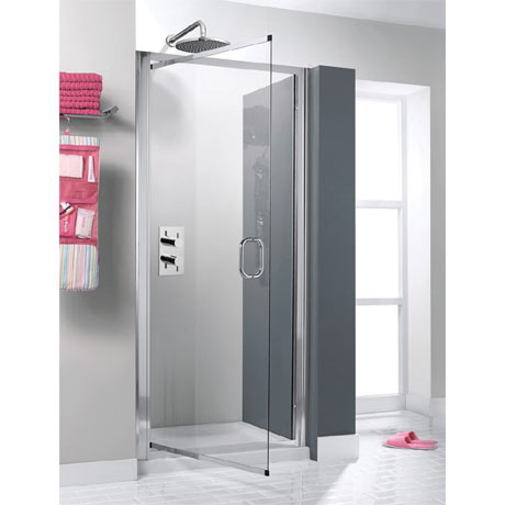 Simpsons - Supreme Luxury Pivot Shower Door - 900mm - 7312