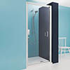 Simpsons - Supreme Luxury Pivot Shower Door - 900mm - 7312 profile small image view 1