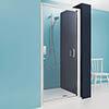 Crosswater - Supreme Luxury Pivot Shower Door - 900mm - 7312 profile small image view 1