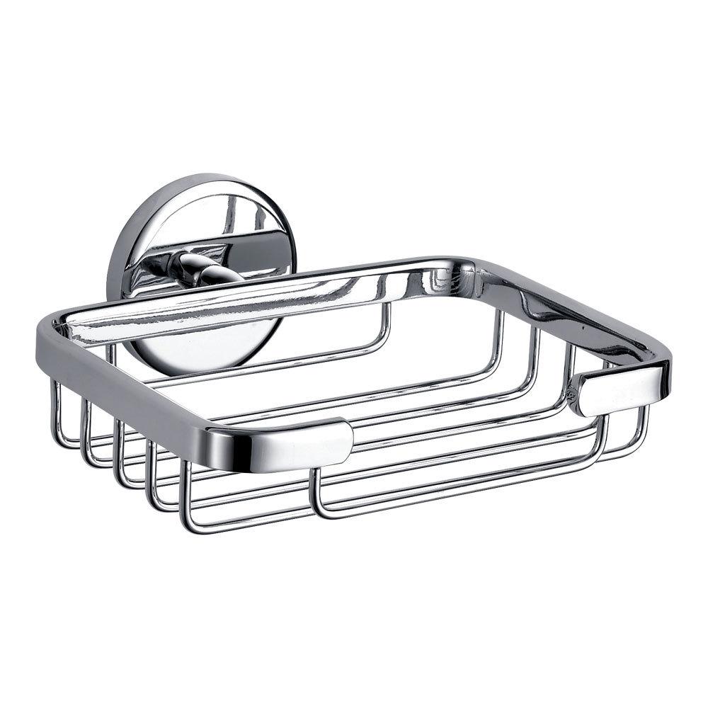 Orion Soap Basket - Chrome Large Image