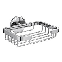 Orion Soap Basket - Chrome Medium Image