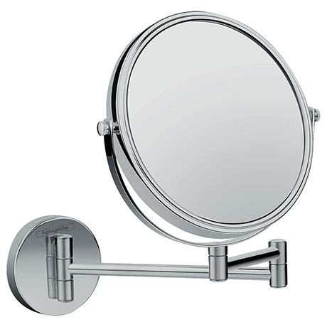 hansgrohe Logis Universal Shaving Mirror with 3x Magnification - 73561000