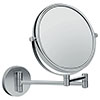 hansgrohe Logis Universal Shaving Mirror with 3x Magnification - 73561000 profile small image view 1