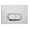 Vitra Loop O Mechanical Flush Plate - Chrome - 7400580 profile small image view 1