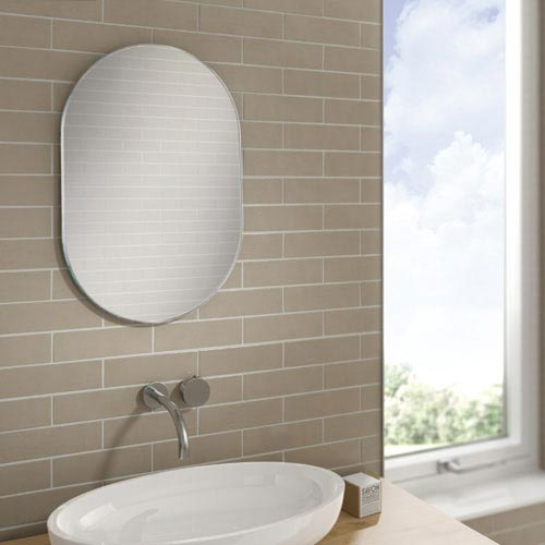 HIB Jessica Bathroom Mirror - 76100000 profile large image view 2
