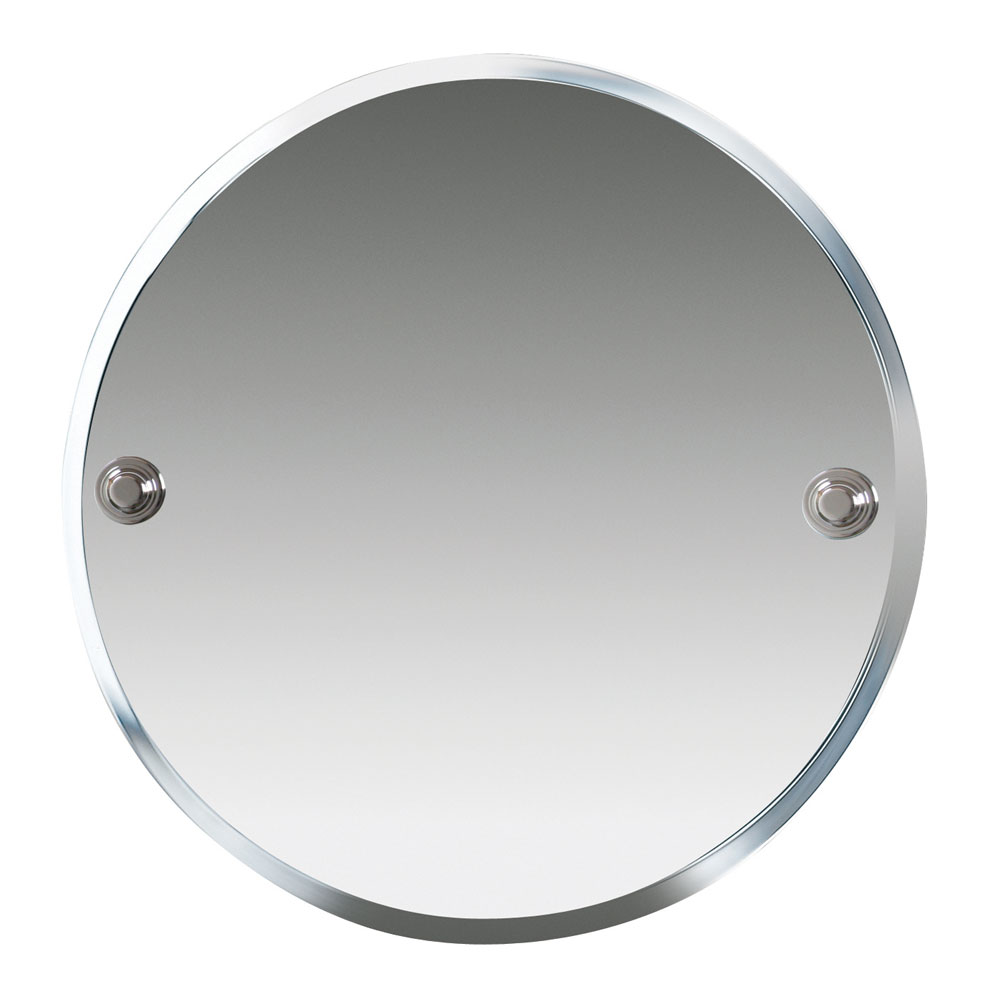 Miller - Hartford 450mm Round Bevelled Wall Mirror - 7700C Large Image
