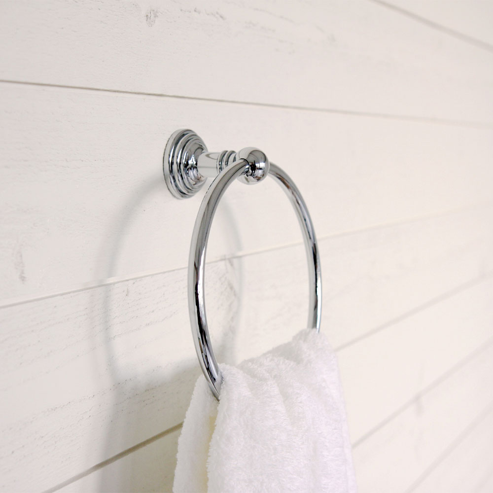 Miller - Hartford Towel Ring - 7705C Profile Large Image