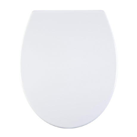 Aqualona Duroplast Soft Close Toilet Seat with Quick Release - White - 77399