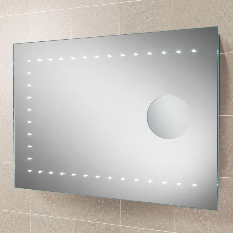 HIB Mileto LED Mirror with Magnifying Mirror - 77409000 Large Image