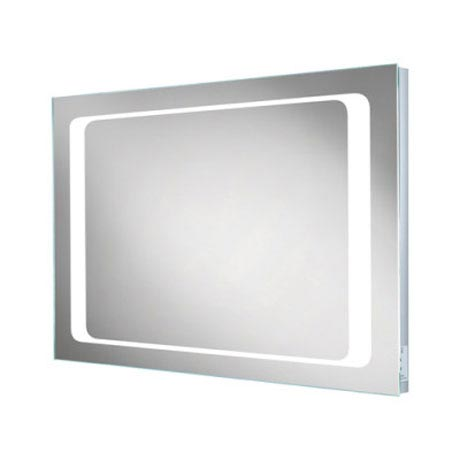 HIB Axis LED Mirror with Charging Socket - 77417000  Profile Large Image