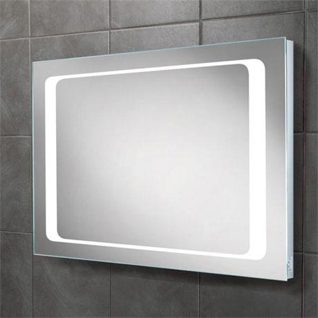 HIB Axis LED Mirror with Charging Socket - 77417000