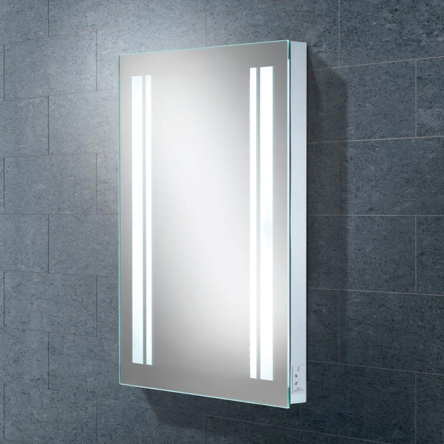 HIB Nexus LED Mirror with Charging Socket - 77418000 profile large image view 1
