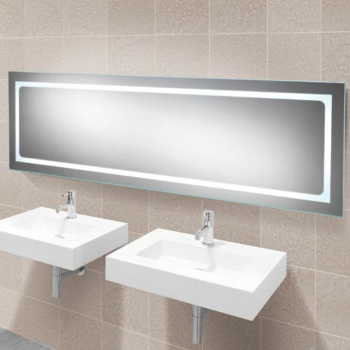 HIB Alto LED Mirror - 77420000 profile large image view 1