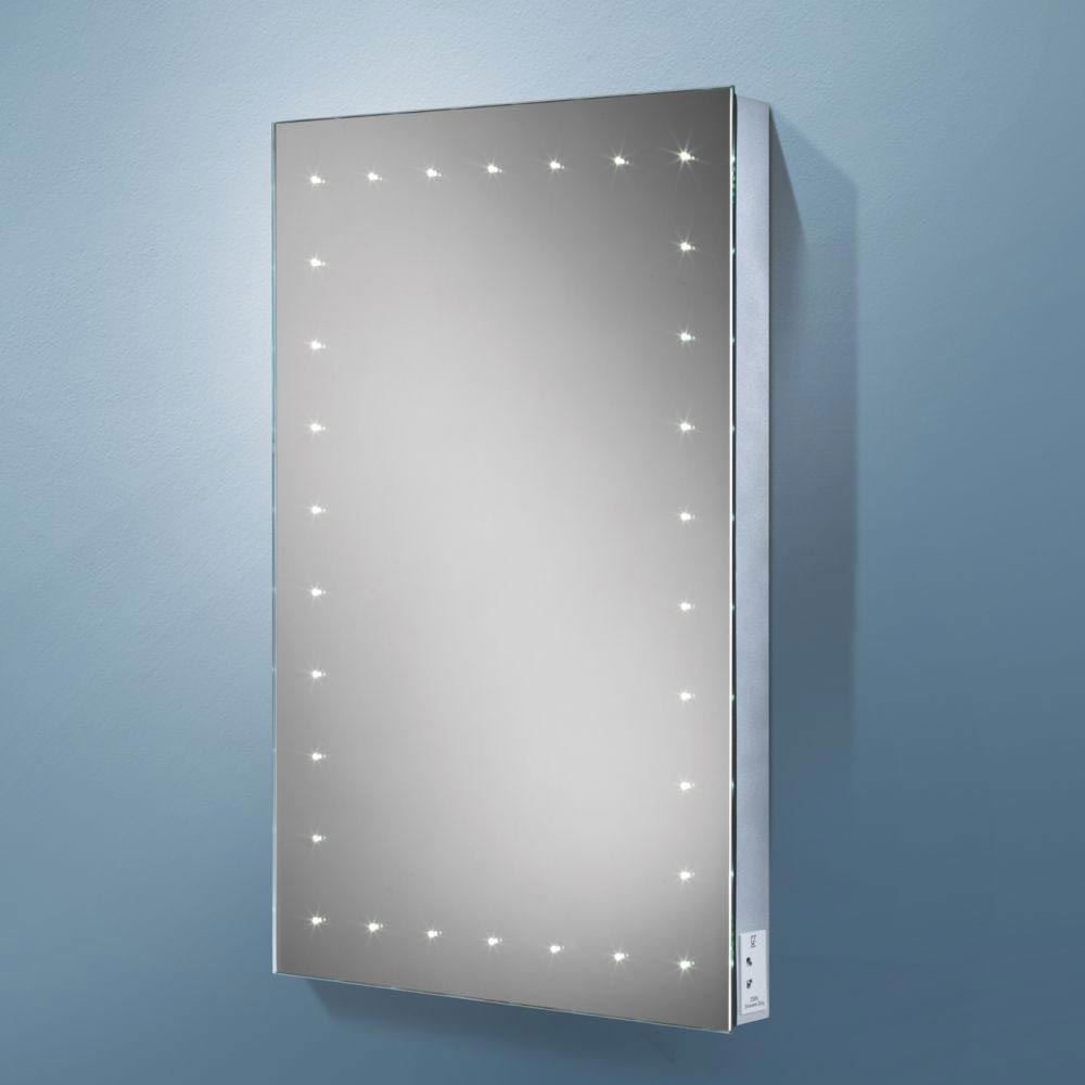 HIB Astral LED Mirror with Charging Socket - 77450000 Large Image