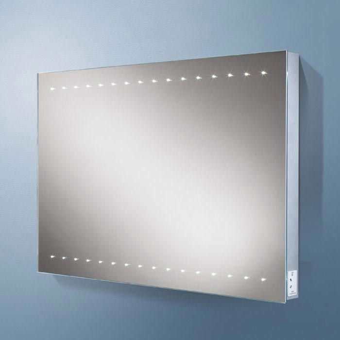 HIB Epic LED Mirror with Charging Socket - 77460000 Large Image