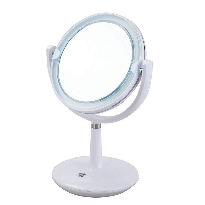 Aqualona Madrid Free Standing Cosmetic Illuminated Mirror - 77474