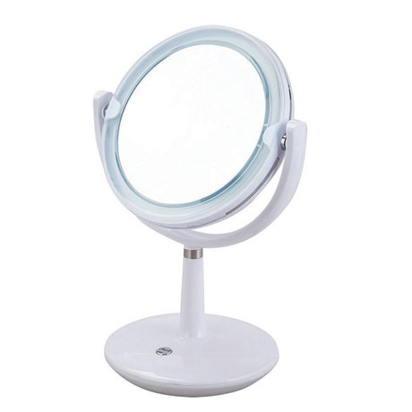 Aqualona Madrid Free Standing Cosmetic Illuminated Mirror - 77474