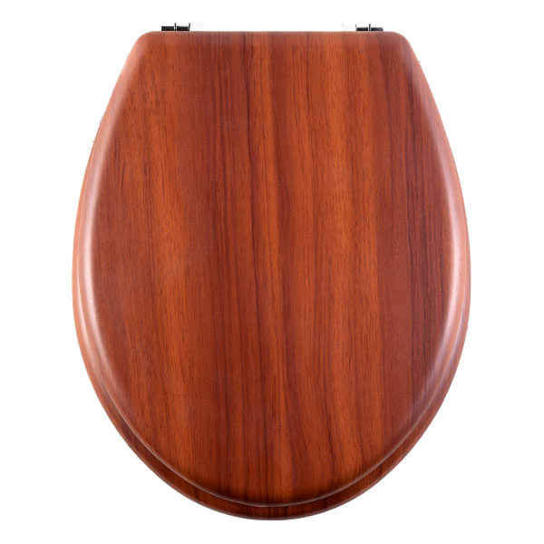 The Aqualona Antique Pine Toilet Seat | Victorian Plumbing
