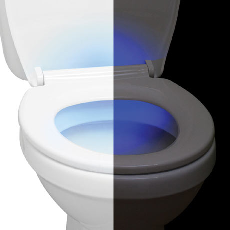 Aqualona Night Light Soft Close Toilet Seat - 77825