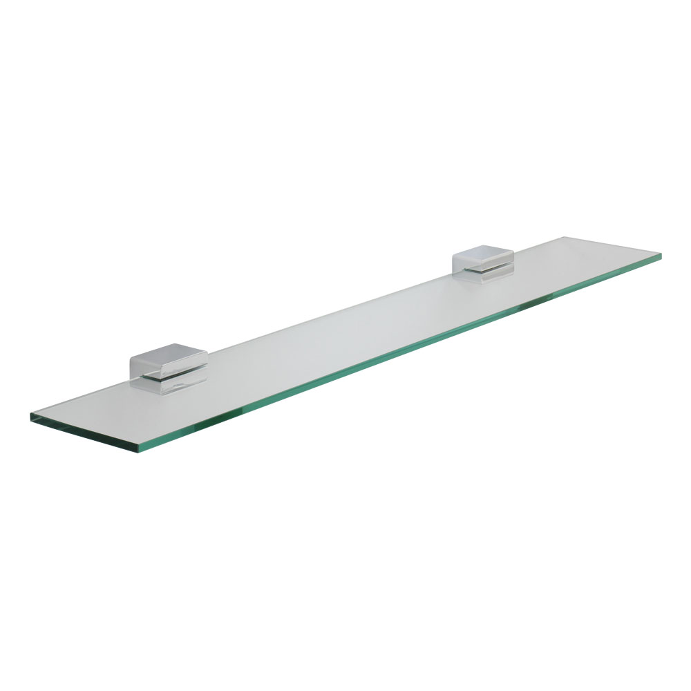 Roper Rhodes Horizon Toughened Clear Glass Shelf - 7812.02 Large Image