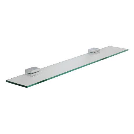 Roper Rhodes Horizon Toughened Clear Glass Shelf - 7812.02