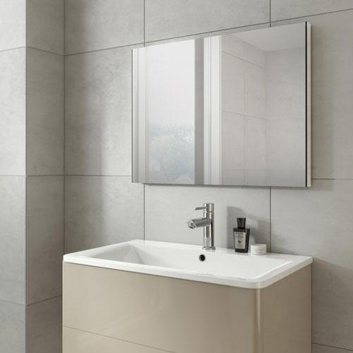 HIB Triumph 80 Mirror with Mirrored Sides - 78200000  Profile Large Image