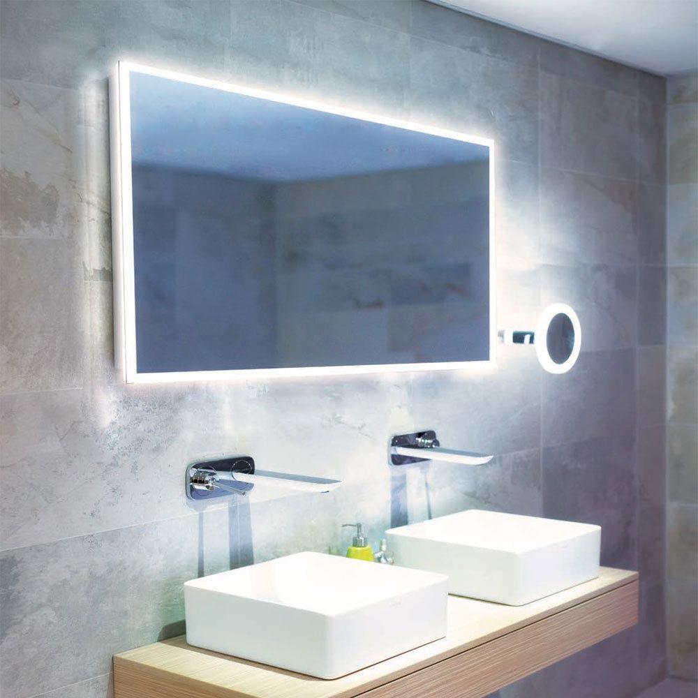 HIB Globe 120 LED Ambient Mirror - 78700000 profile large image view 2