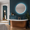 HIB Theme 100 LED Ambient Round Mirror - 79130000 profile small image view 1