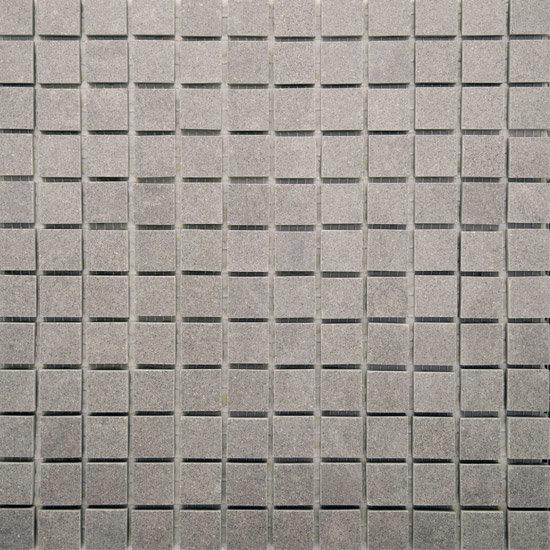 RAK - Lounge Light Grey Porcelain Mosaic Polished Tile Sheet - 300x300mm - 7GPD59-MOS Large Image