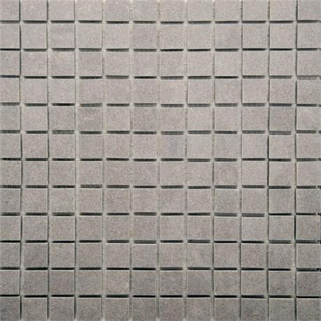 RAK - Lounge Light Grey Porcelain Mosaic Polished Tile Sheet - 300x300mm - 7GPD59-MOS