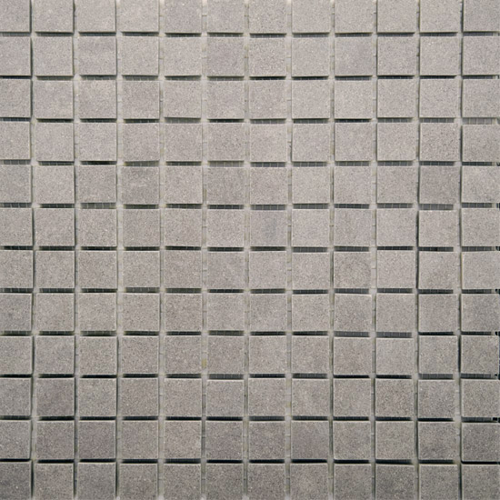 RAK - Lounge Light Grey Porcelain Mosaic Unpolished Tile Sheet - 300x300mm - 7GPD59UP-MOS Large Image