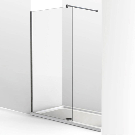 KUDOS Ultimate2 1600 x 700mm 8mm Glass Recess Shower Enclosure + Tray