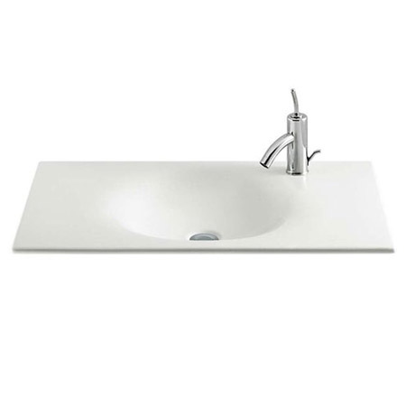 Roca - Kalahari-N 2 Drawer Vanity Unit with W800mm Basin - 1 TH - 3 x Colour Options profile large image view 2