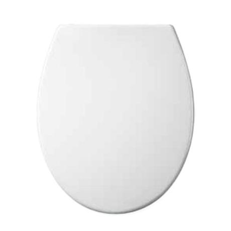 Euroshowers - ONE Seat Universal Soft Close Toilet Seat - White - 83311