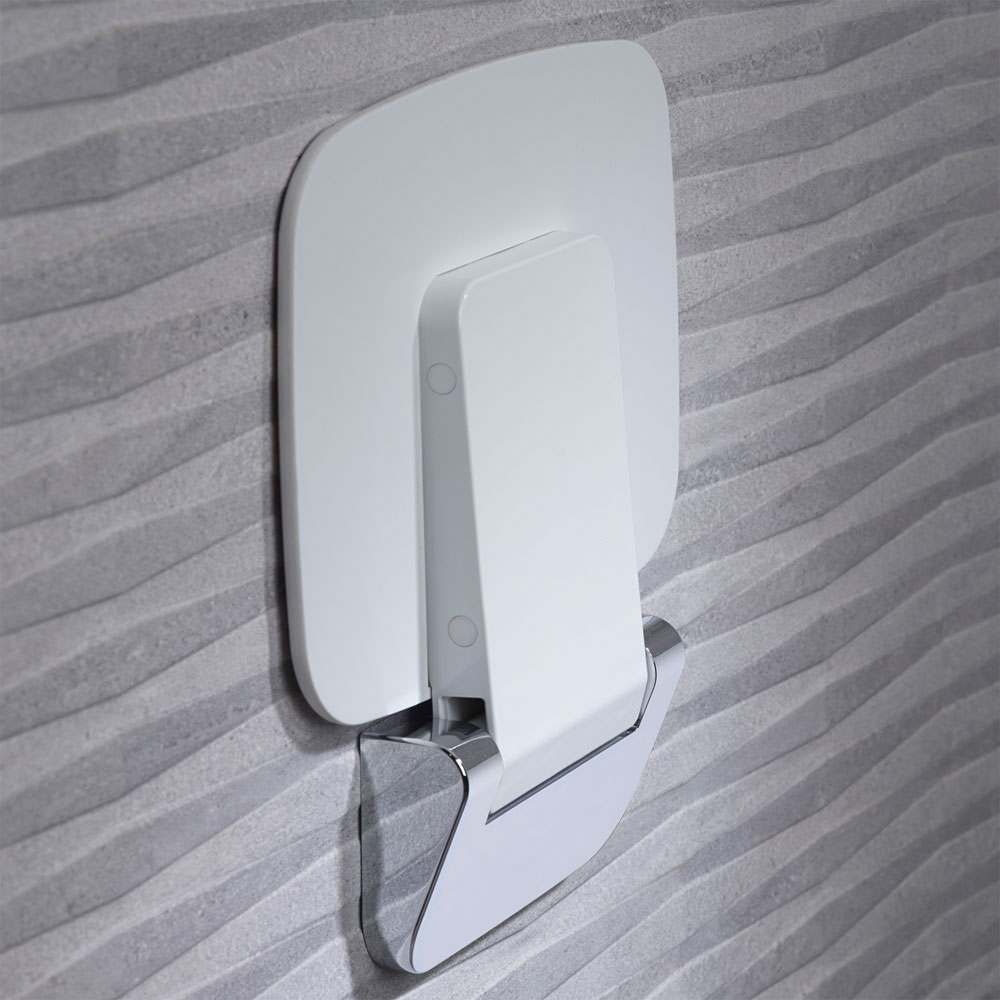 Roper Rhodes Thermoset Shower Seat - 8020 Profile Large Image